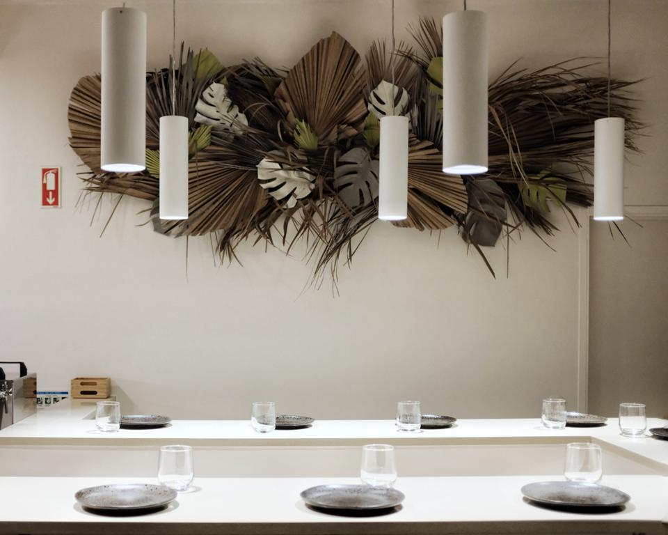The design at Barra restaurant in Lisbon is minimalist, the better to let the food stand out.