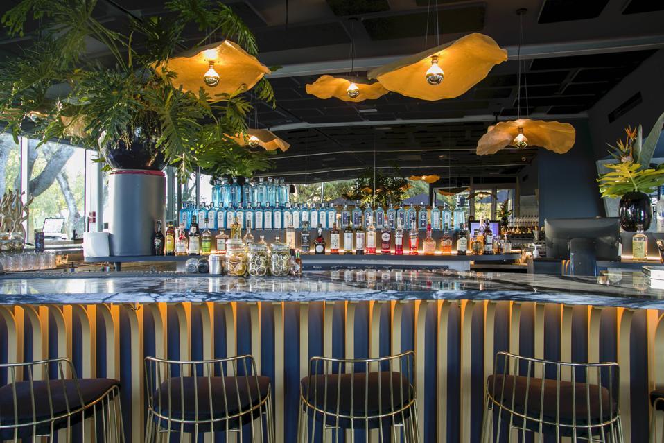 Praia no Parque in Lisbon reinvented itself as a sushi bar.