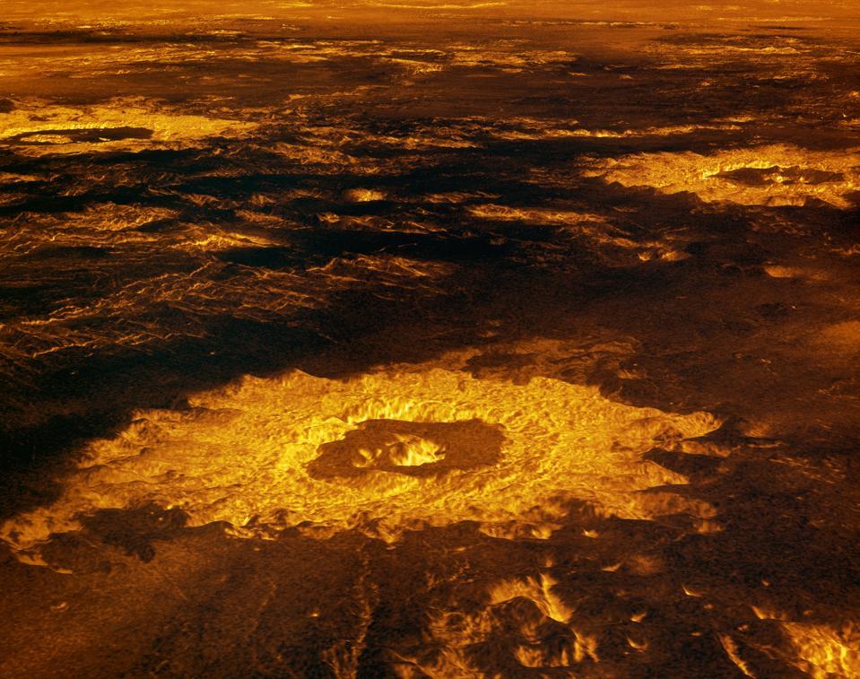 Impact Craters on Venus