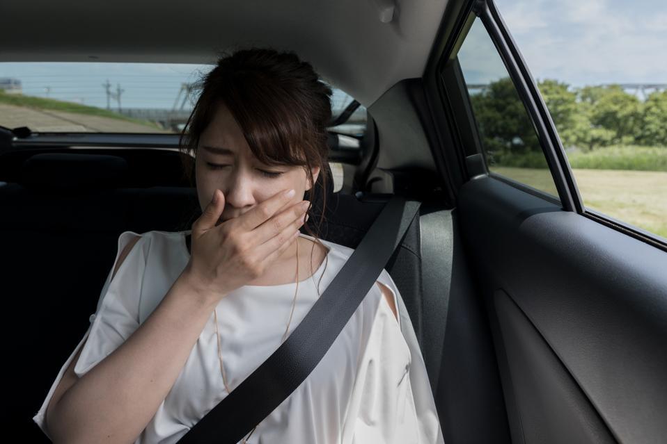 avoid motion sickness