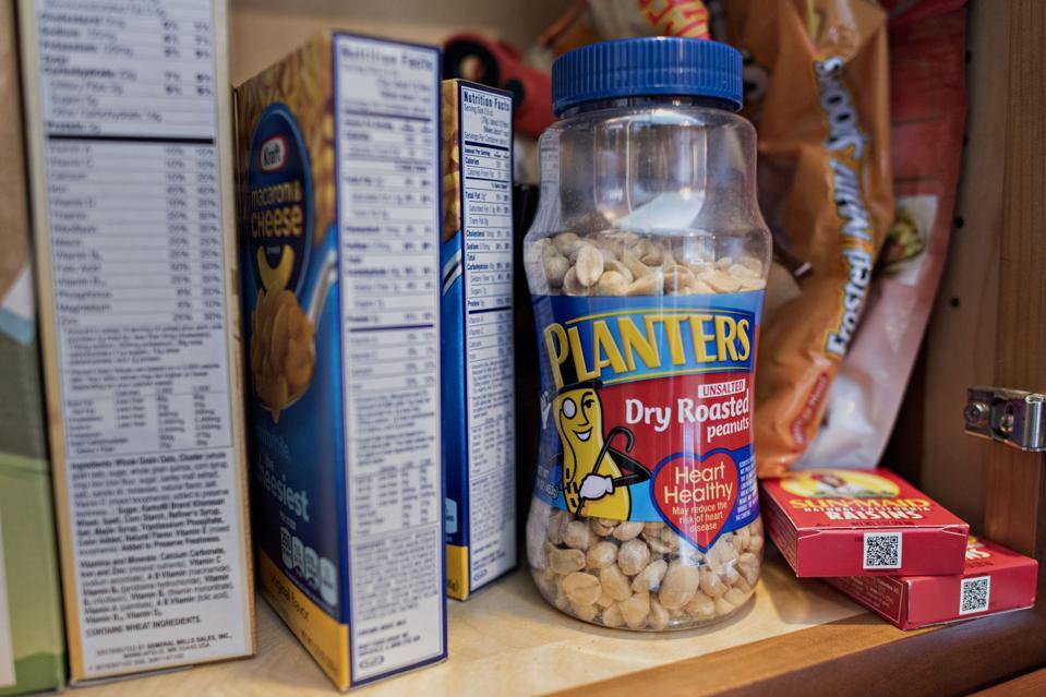Planter's peanuts brand has been responsible for 35% of Kraft Heinz's U.S. sales decline since 2016.