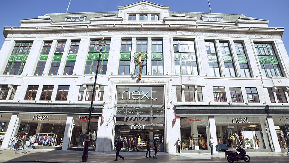 Next's flagship store on Oxford Street, London.