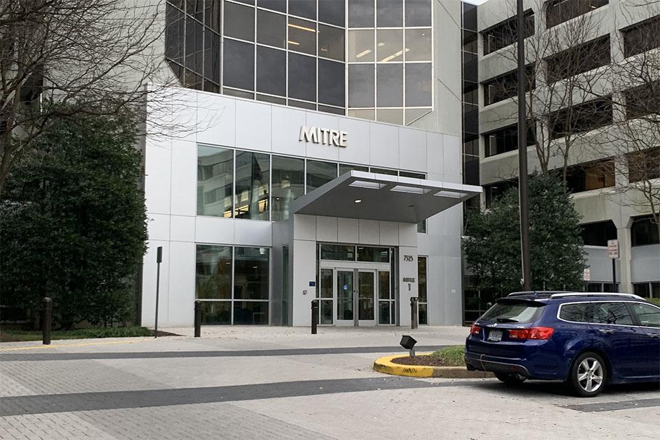 Mitre Corporation headquarters in McLean, Virginia.