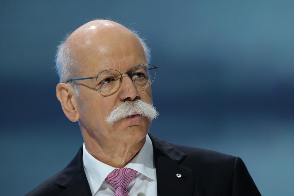 Former Daimler board Chairman Dr Dieter Zetsche left headaches for his successor.