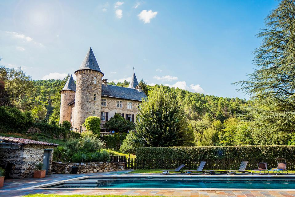 Chateau Chamborigaud in Languedoc