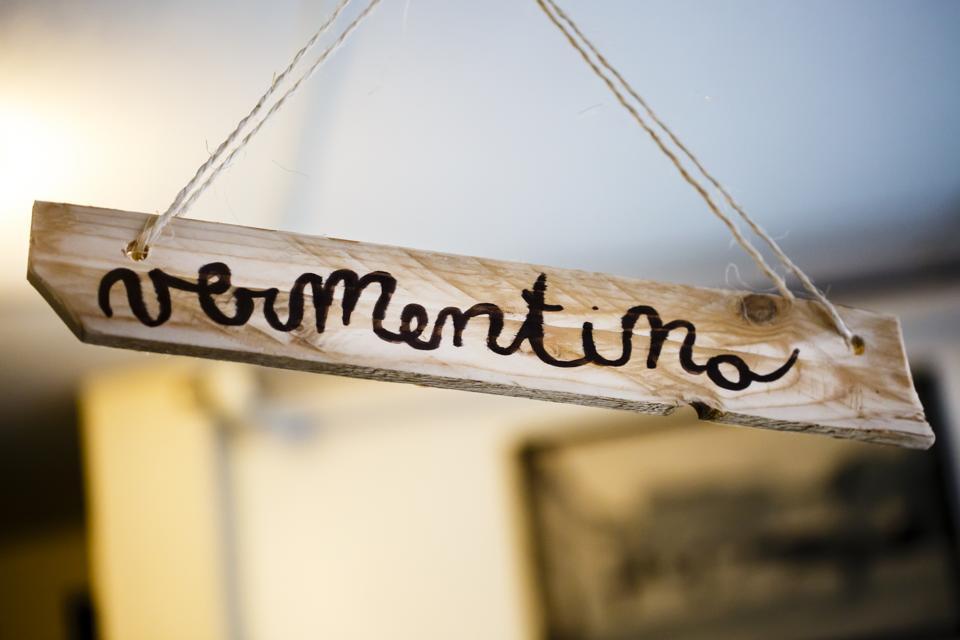 Vermentino Hanging Sign