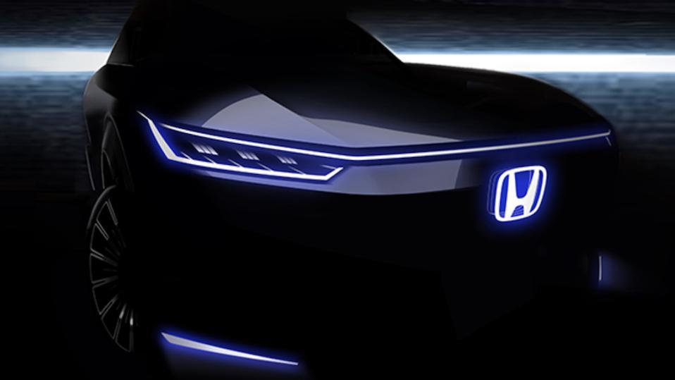 The Honda EV concept will be revealed in Beijing on September 26.