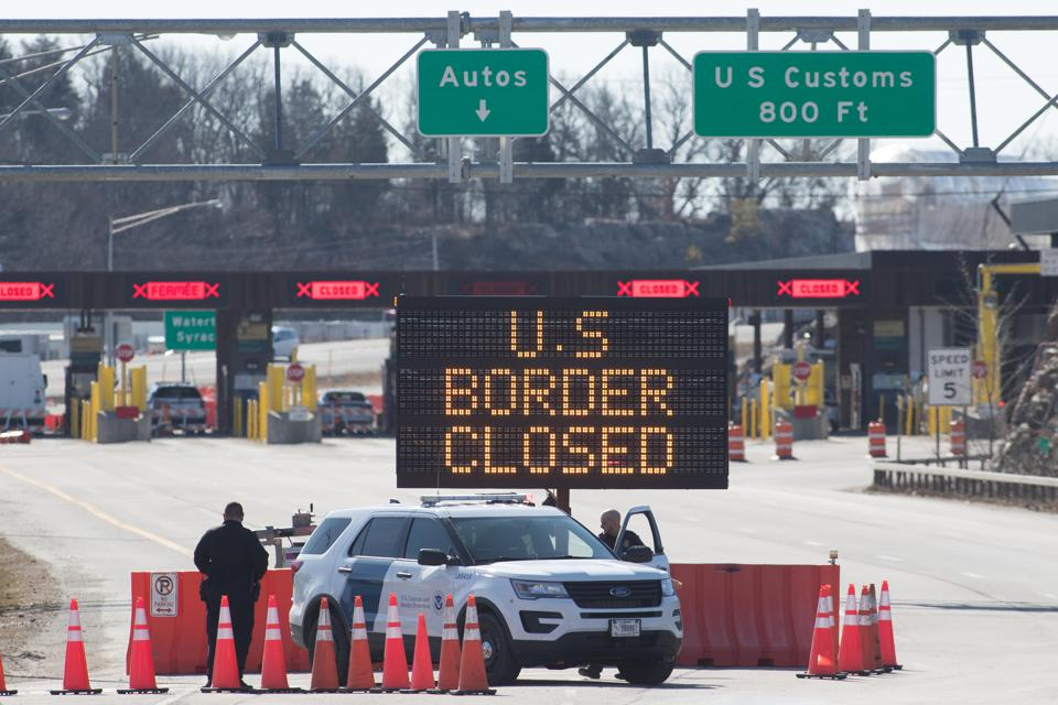 U S Canada Border Likely To Stay Closed Through November At Least