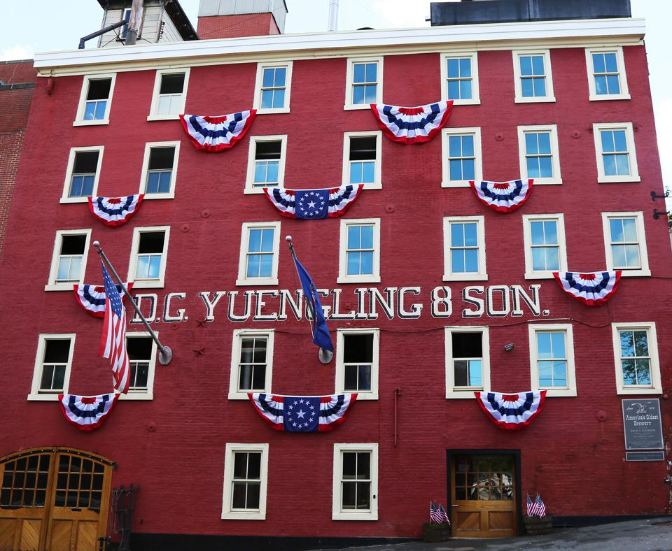 The D.G. Yuengling & Son brewery