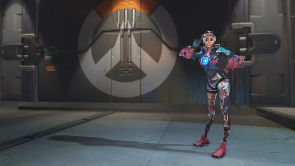 Overwatch Tracer's Comic Challenge Comic Book skin