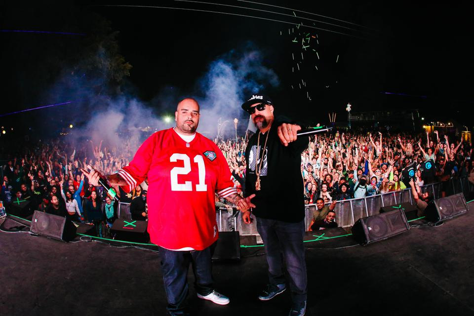 Berner and B-Real of Cypress Hill