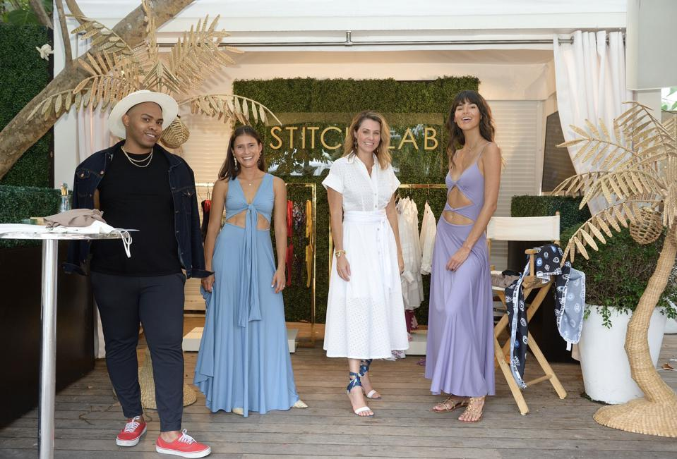 Stitch Lab Marketplace: Paraiso Miami Beach hosted a live shopping hour with Stitch Lab Marketplace at the SLS South Beach