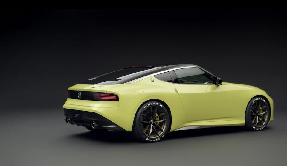 The new Z is rumored to have a twin turbo V6 with over 400hp.