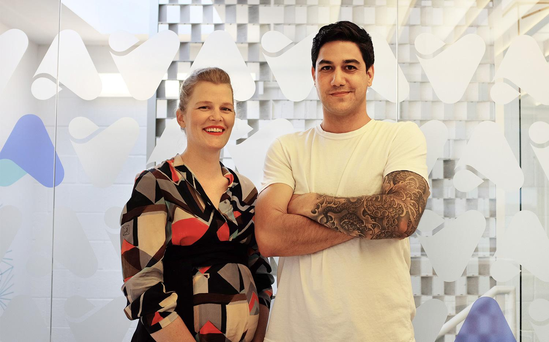 AgentSync cofounders Jenn Knight and Niji Sabharwal.