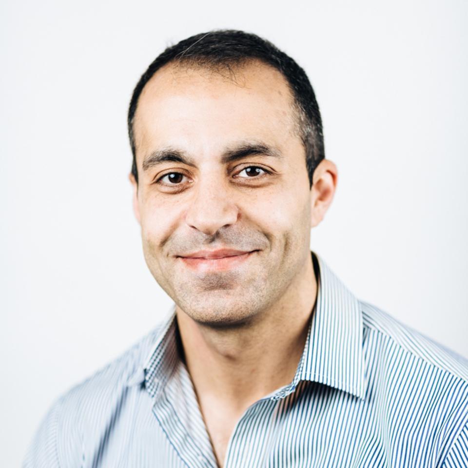 Databricks CEO Ali Ghodsi.
