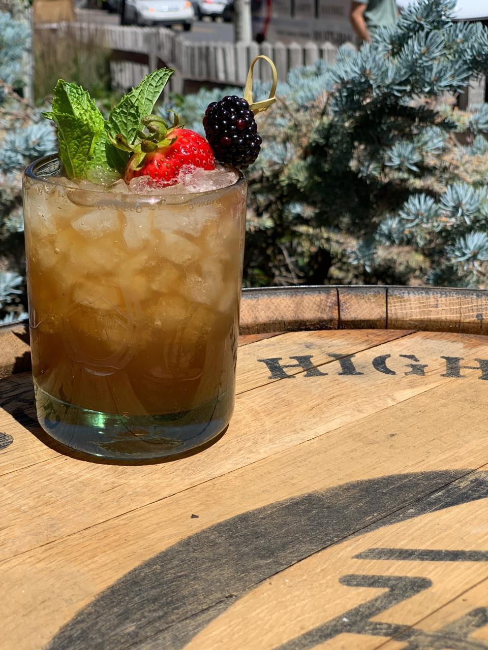 High West Cobbler_Best Whiskey Cocktails