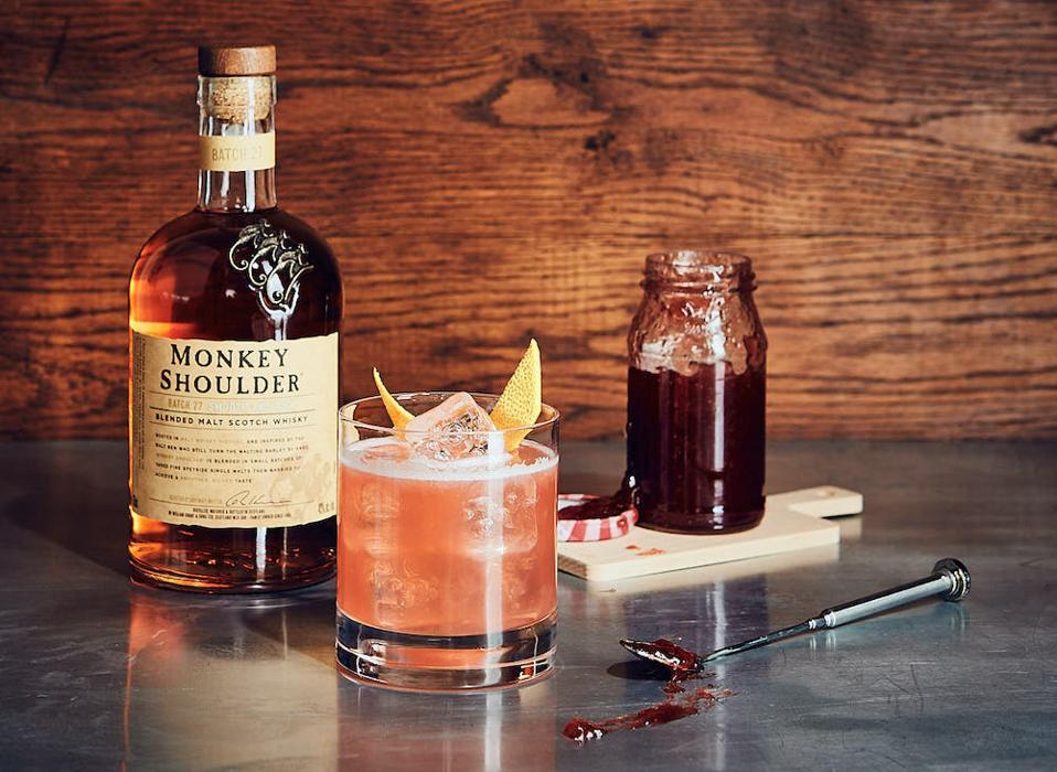 Monkey Jam Sour_Best Whiskey Cocktails
