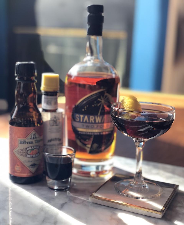 Starward Whiskey The Down Under_Gelo Honrade_Best Whiskey Cocktails_Sean Evans photog