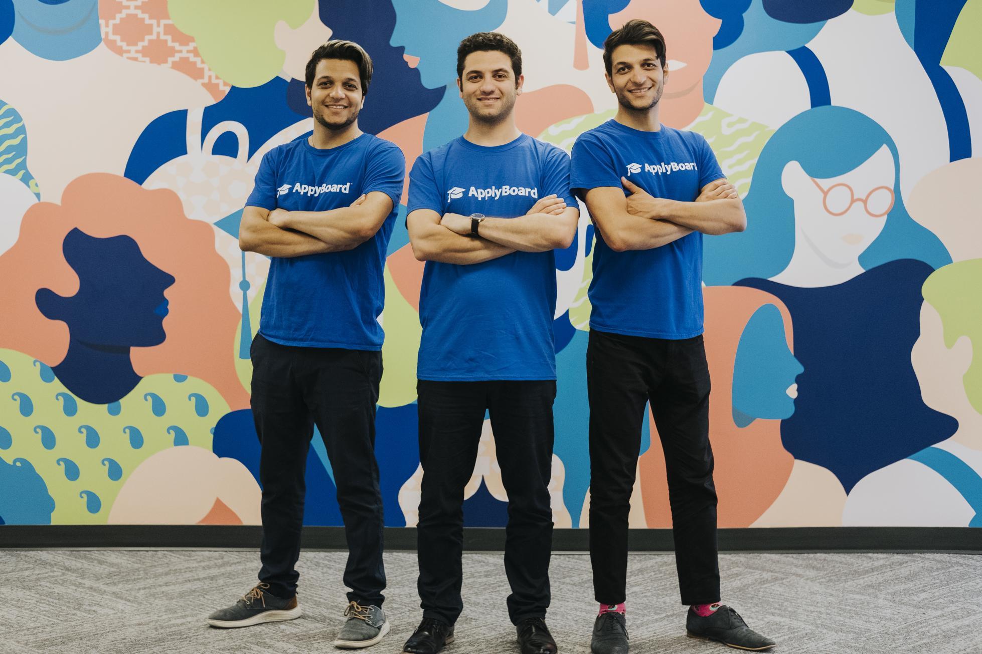 ApplyBoard cofounders