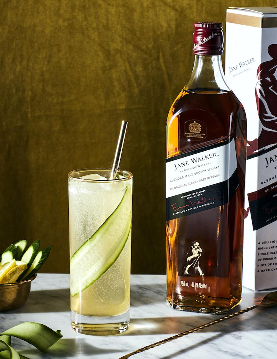 Cool Jane with Jane Walker by Johnnie Walker_Best Whiskey Cocktails