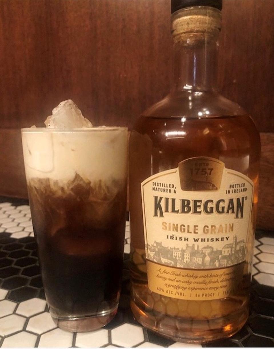 Iced Irish Coffee_Best Whiskey Cocktails