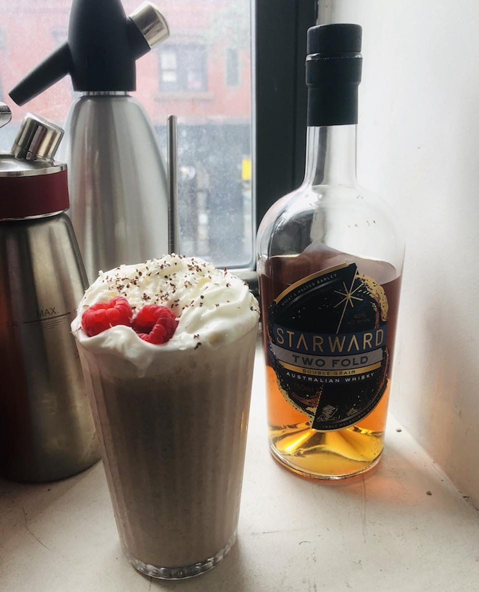 Starward Whiskey Milkshake_Best Whiskey Cocktails