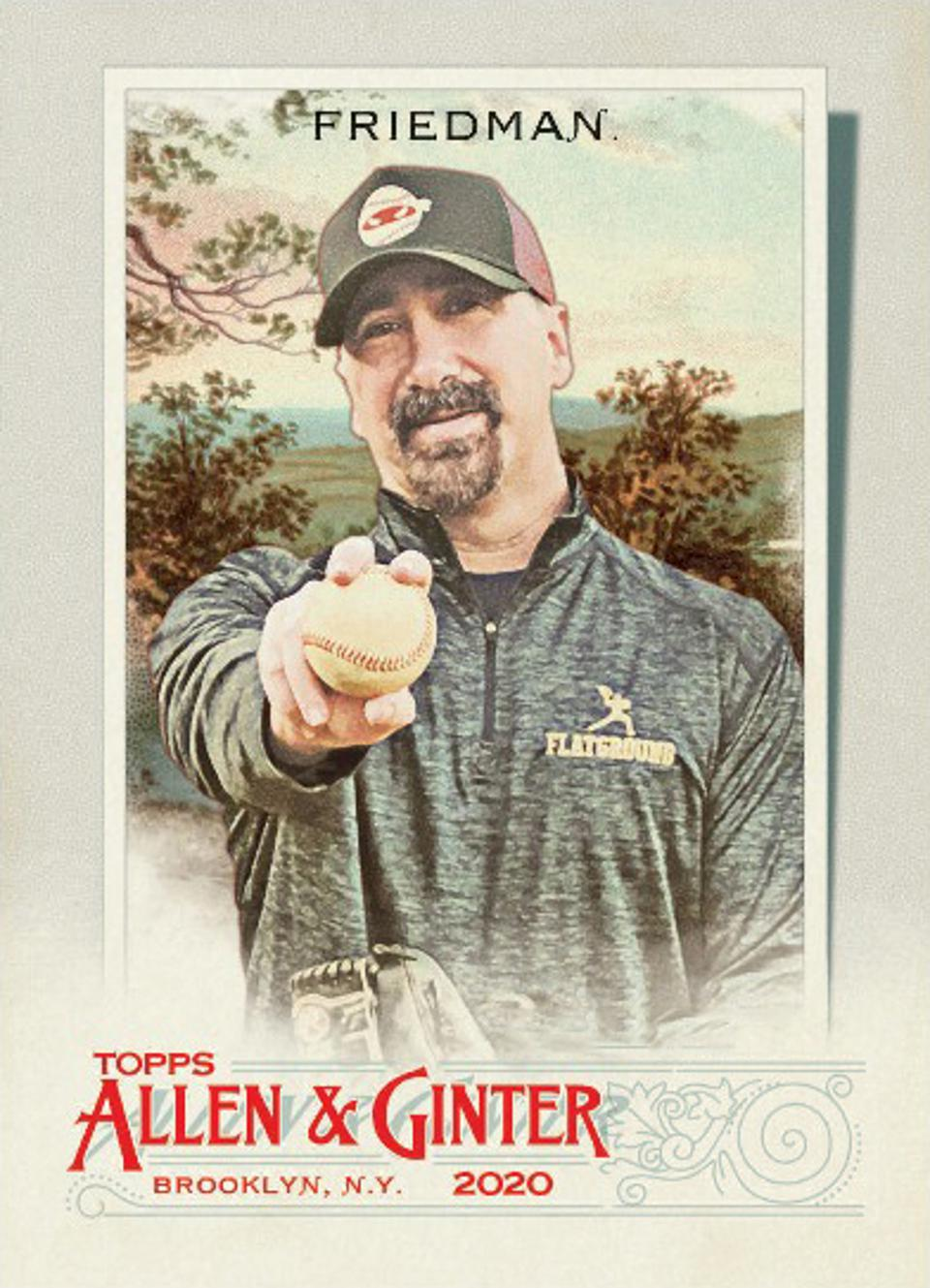 Rob Friedman aka PitchingNinja, 2020 Topps Allen and Ginter baseball card.