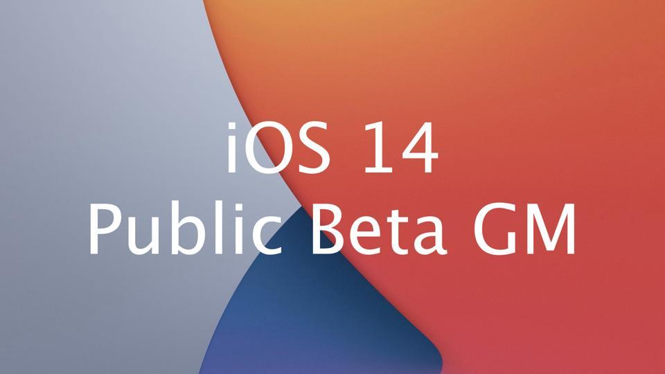 iOS 14 Public Beta Golden Master