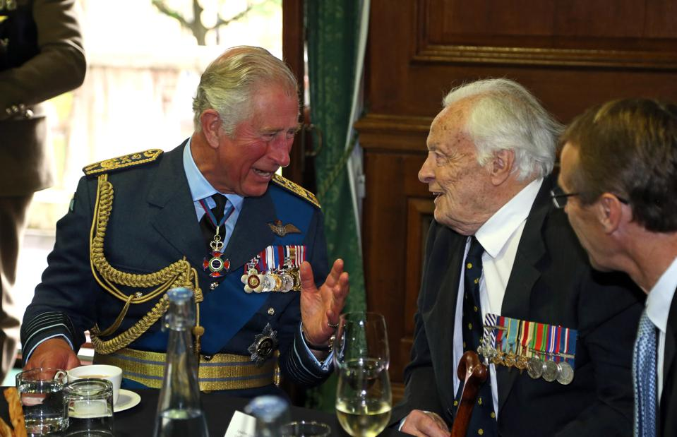 The Prince Of Wales And The Duchess Of Cornwall Attend Service To Mark The 77th Anniversary Of The Battle Of Britain