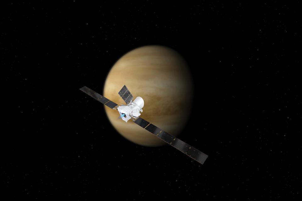BepiColombo at Venus