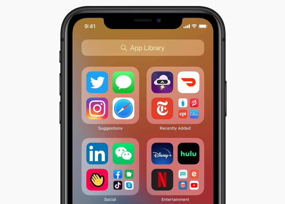 Apple iOS 14 App Library is a game-changer.