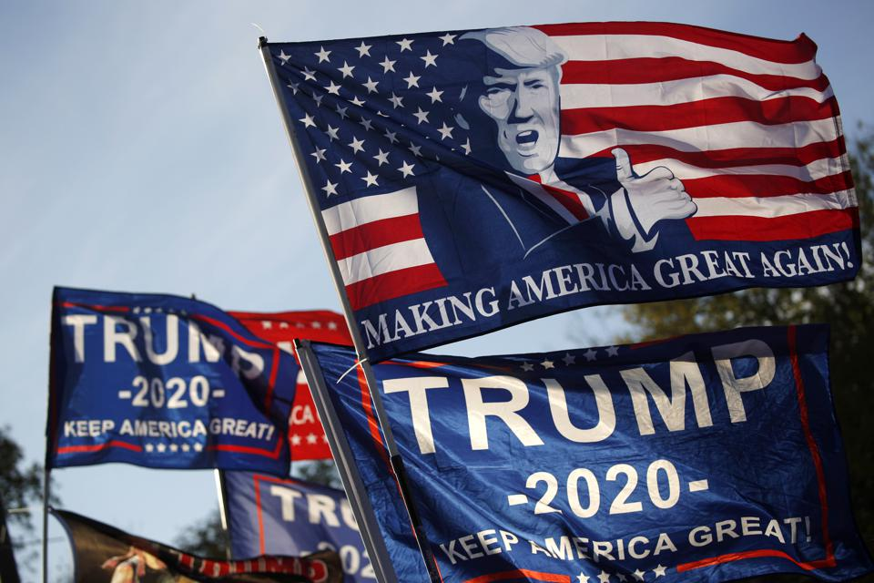 Would you give up your data for a Trump 2020 flag?