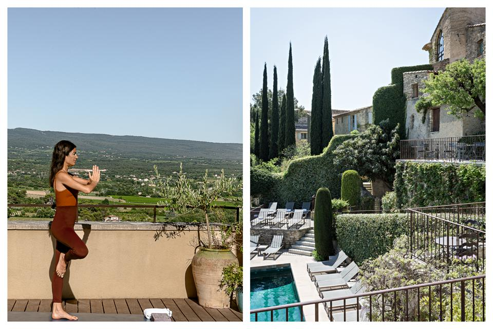 Wellness by LMSV retreat will take place at the iconic hotel Crillon Le Brave in Provence, France.