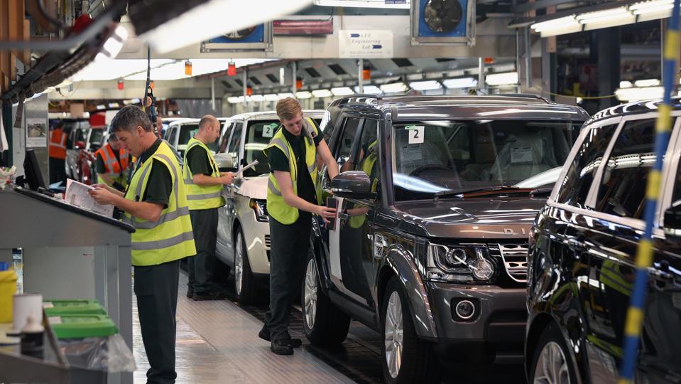 Inside Jaguar Land Rover Factory Plant