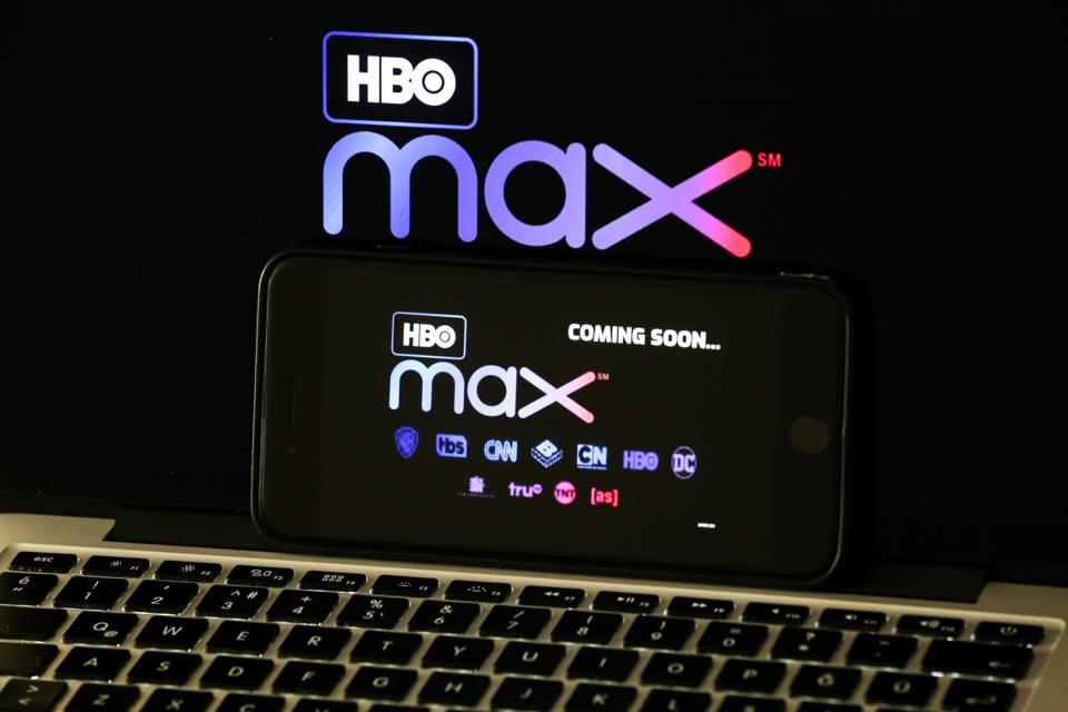 image shows HBO Max