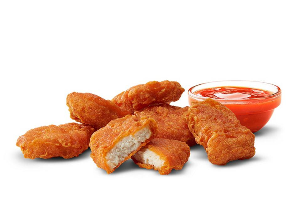 Spicy McNuggets from McDonald's.