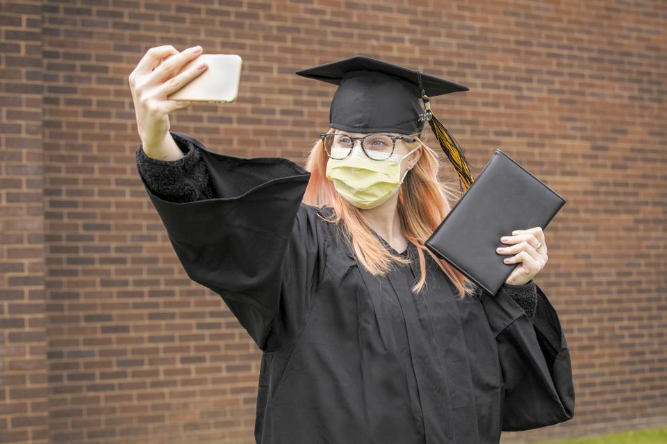 Class of 2020 Social Distancing Selfie