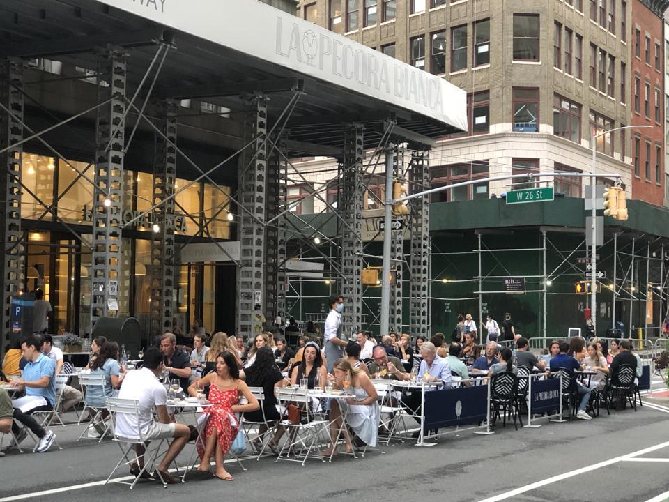 Coronavirus New York restaurants reopening
