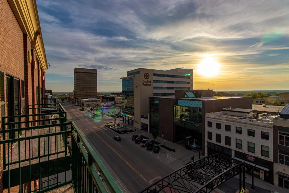 Topeka Kansas downtown