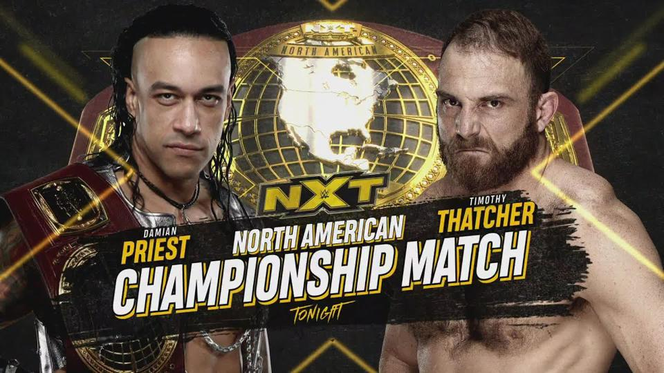 Damian Priest defended his North American Championship in the main event of WWE NXT.