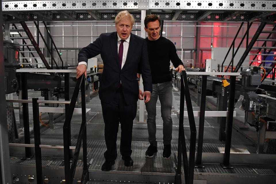 Boris Johnson Campaigns In The West Midlands