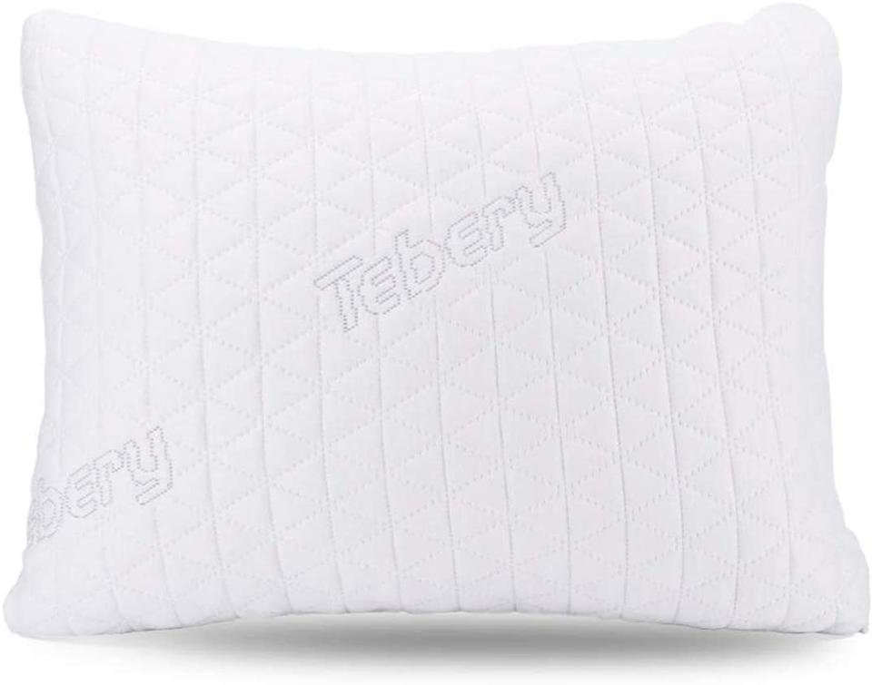 Tebery Memory Foam Travel Pillow