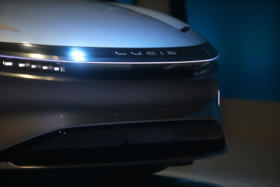 The Lucid Air's claimed 517 miles of EV range is courtesy of LG Chem batteries.