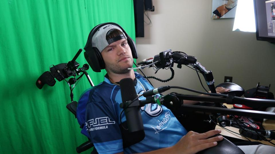 Rocky Stoutenburgh recently signed a contract with Luminosity Gaming, becoming the first quadriplegic to ink a deal with a professional esports organization.