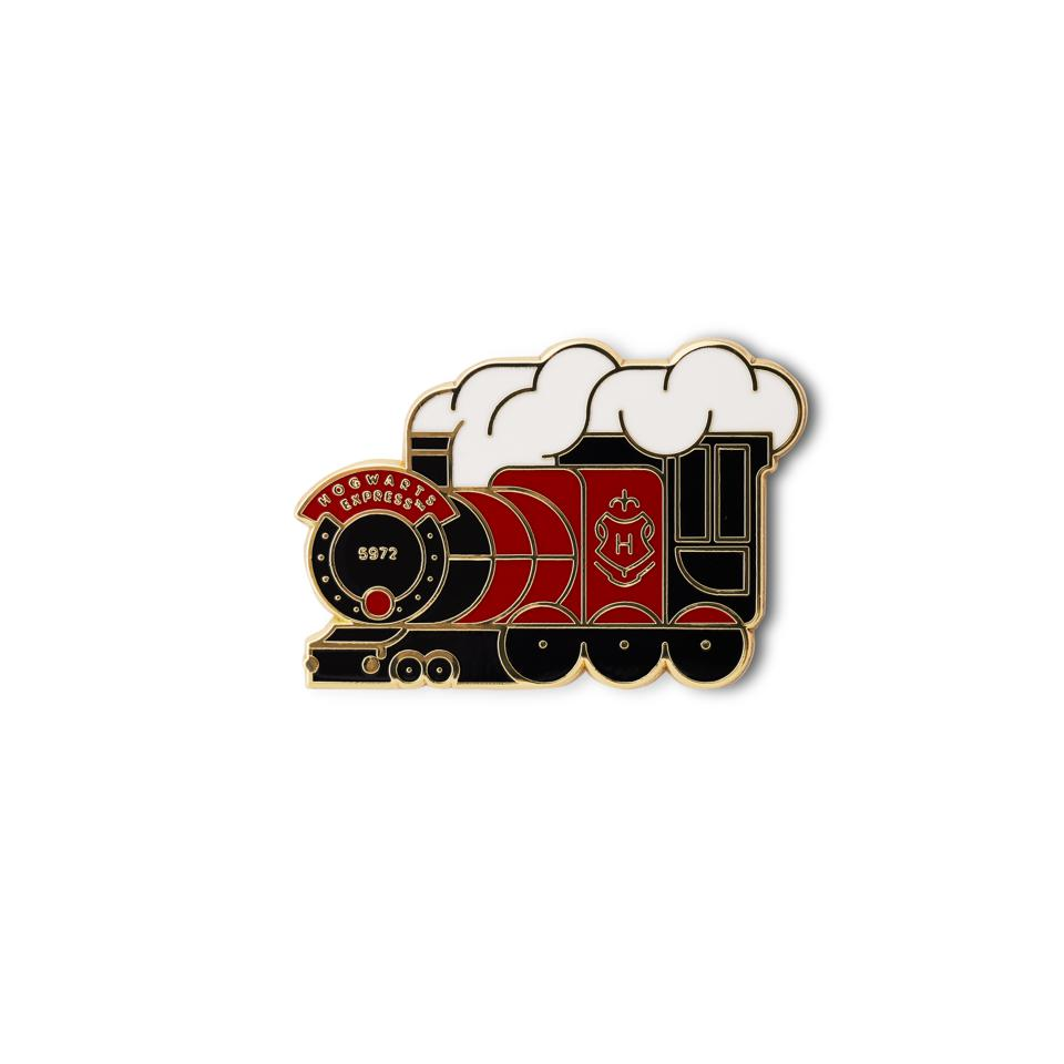 Hogwarts Express pin, a special edition pin badge from the official Harry Potter Fan Club's Pin Seeking collection