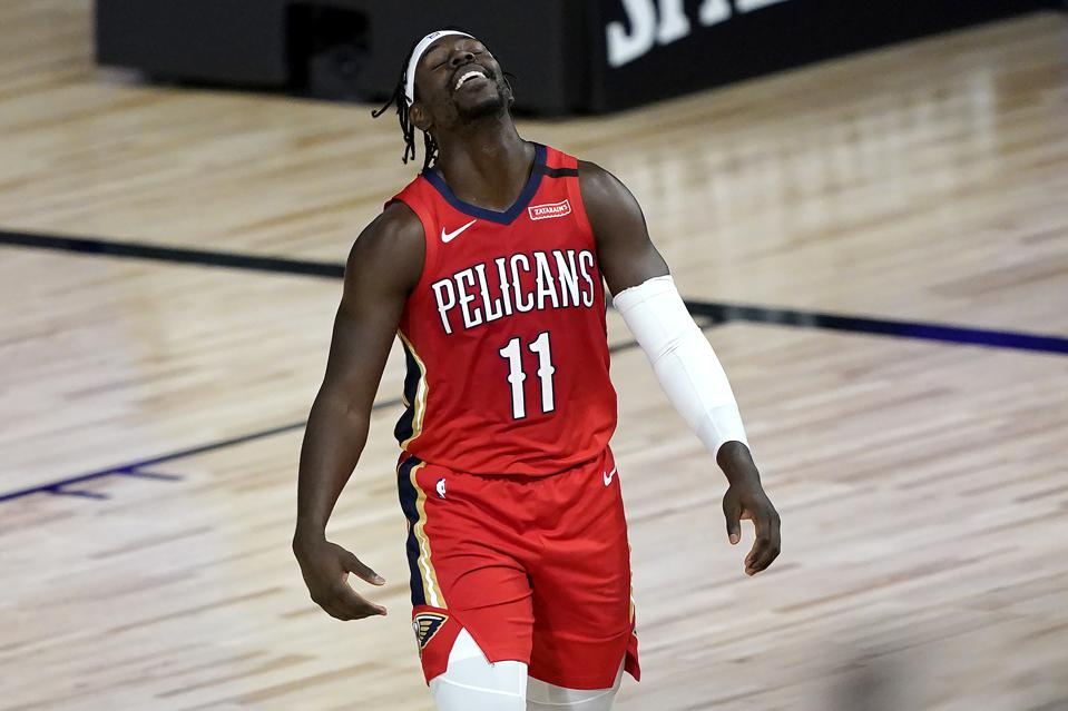 New Orleans Pelicans v Sacramento Kings. Jrue Holiday