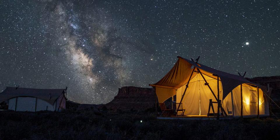 Under Canvas Moab near Arches and Canyonlands National Parks