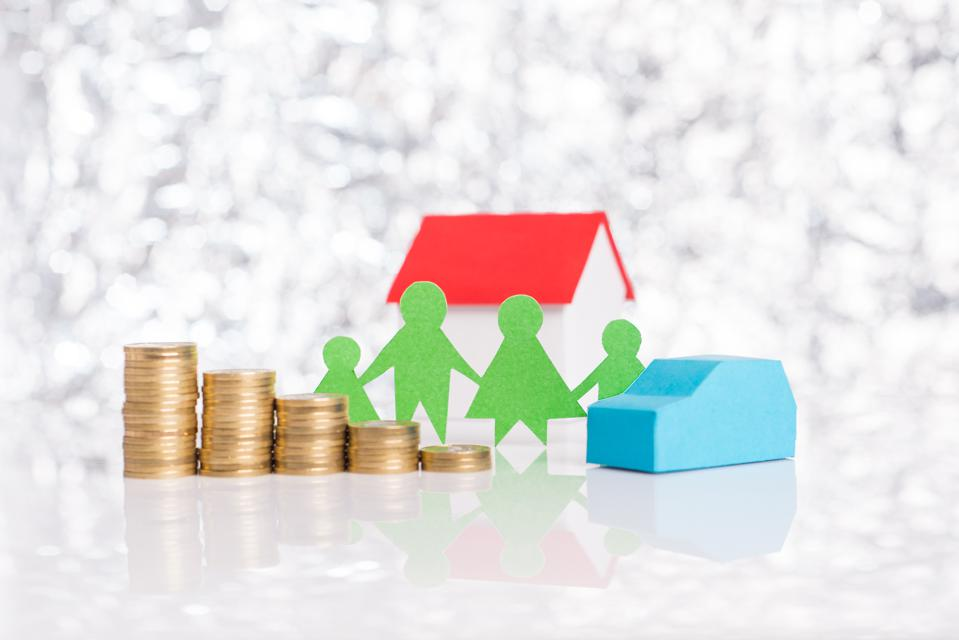 Declining costs of maintaining family and home