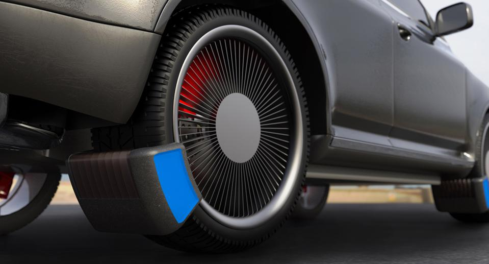 Car tires produce more than 500,000 tonnes of airborne particles annually in Europe alone.