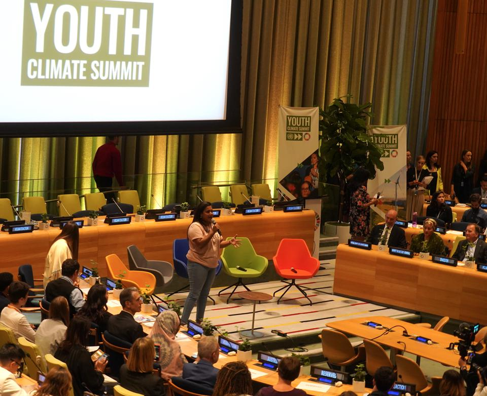 United Nations Hosts Youth Climate Summit